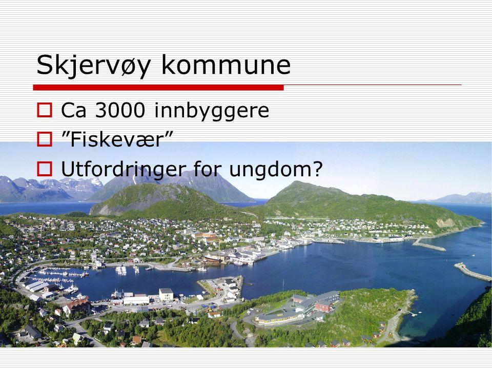 Skjervøy kommune Ca 3000 innbyggere Fiskevær