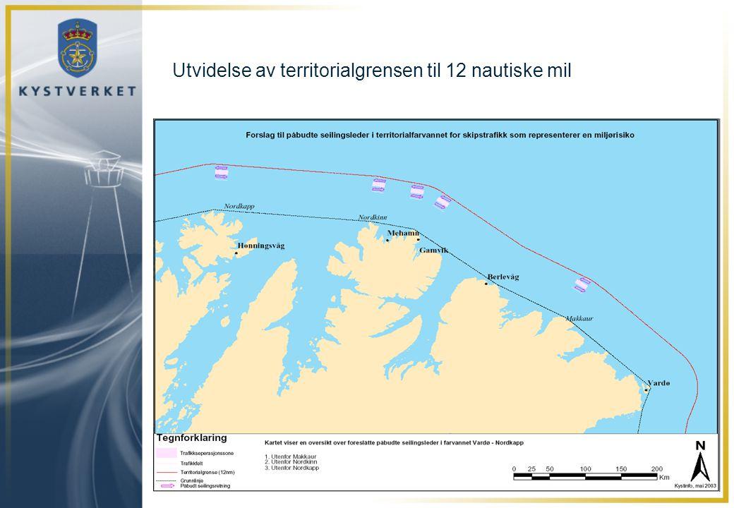 Utvidelse av territorialgrensen til 12 nautiske mil
