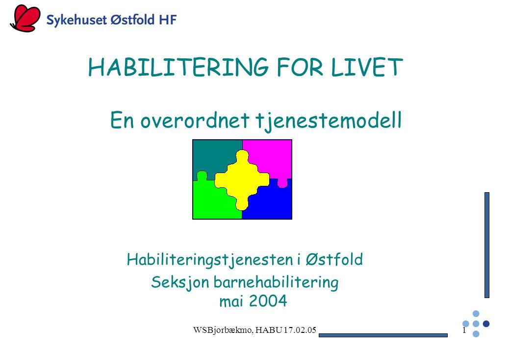 HABILITERING FOR LIVET