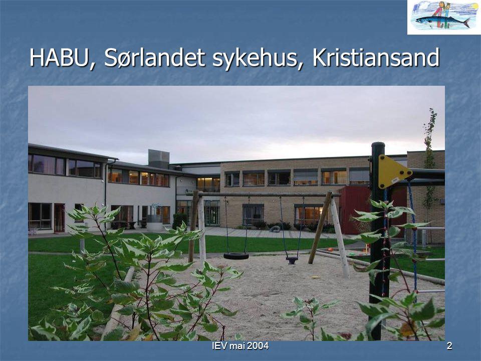 HABU, Sørlandet sykehus, Kristiansand