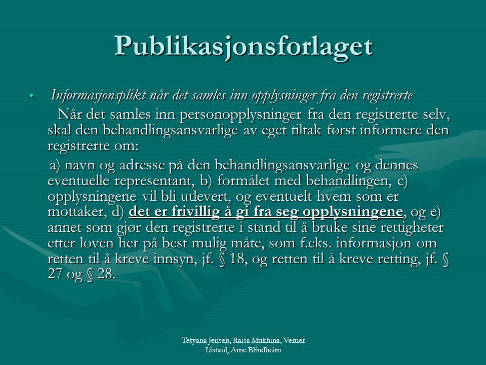Publikasjonsforlaget