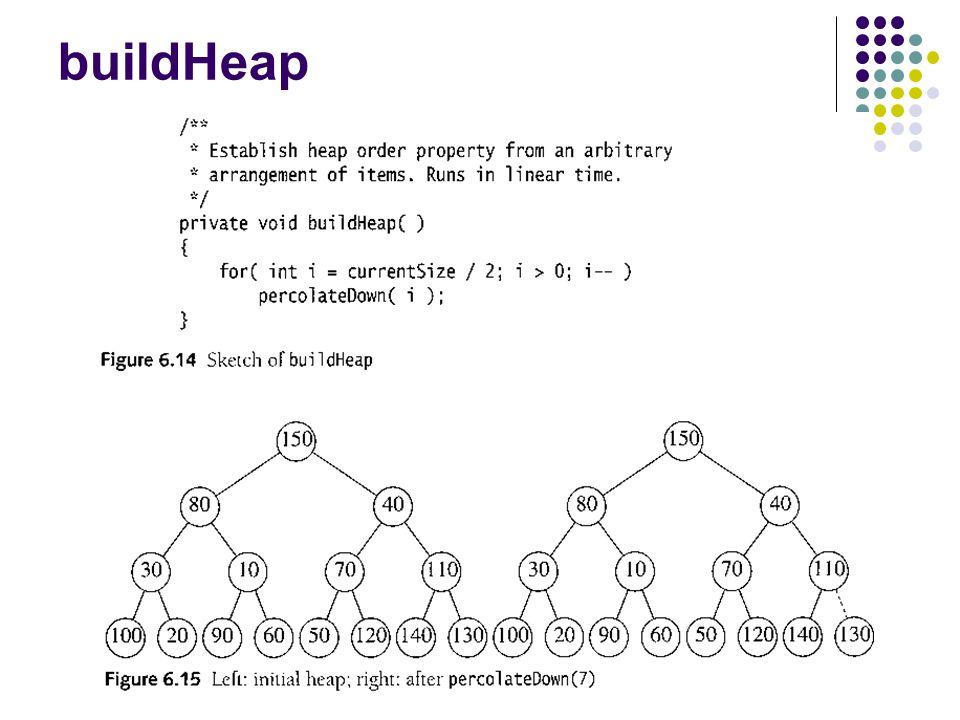 buildHeap