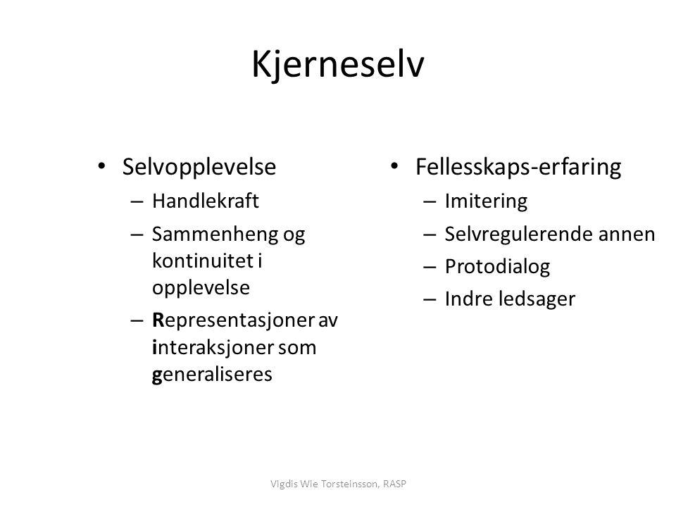 Vigdis Wie Torsteinsson, RASP