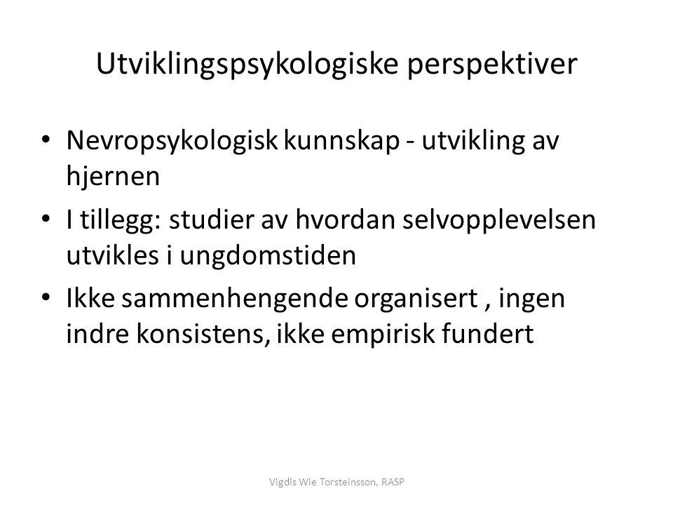 Utviklingspsykologiske perspektiver