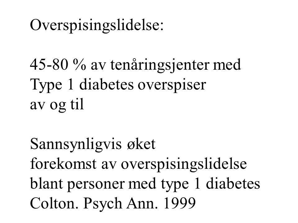 Overspisingslidelse: