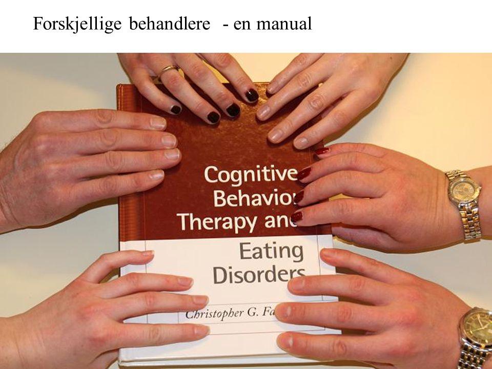 Forskjellige behandlere - en manual