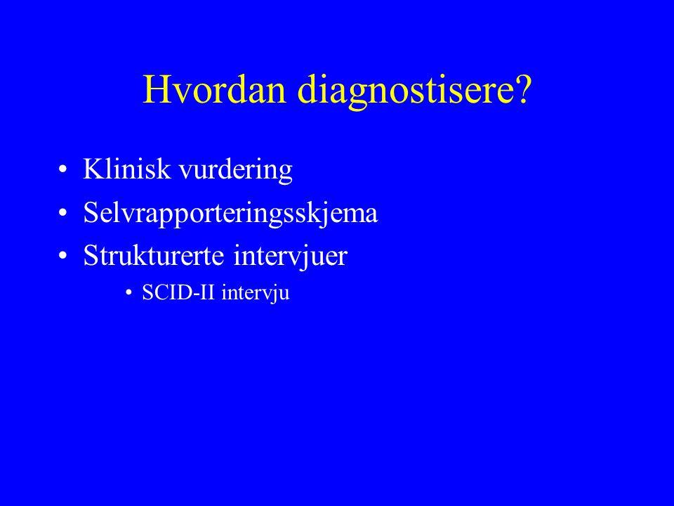 Hvordan diagnostisere