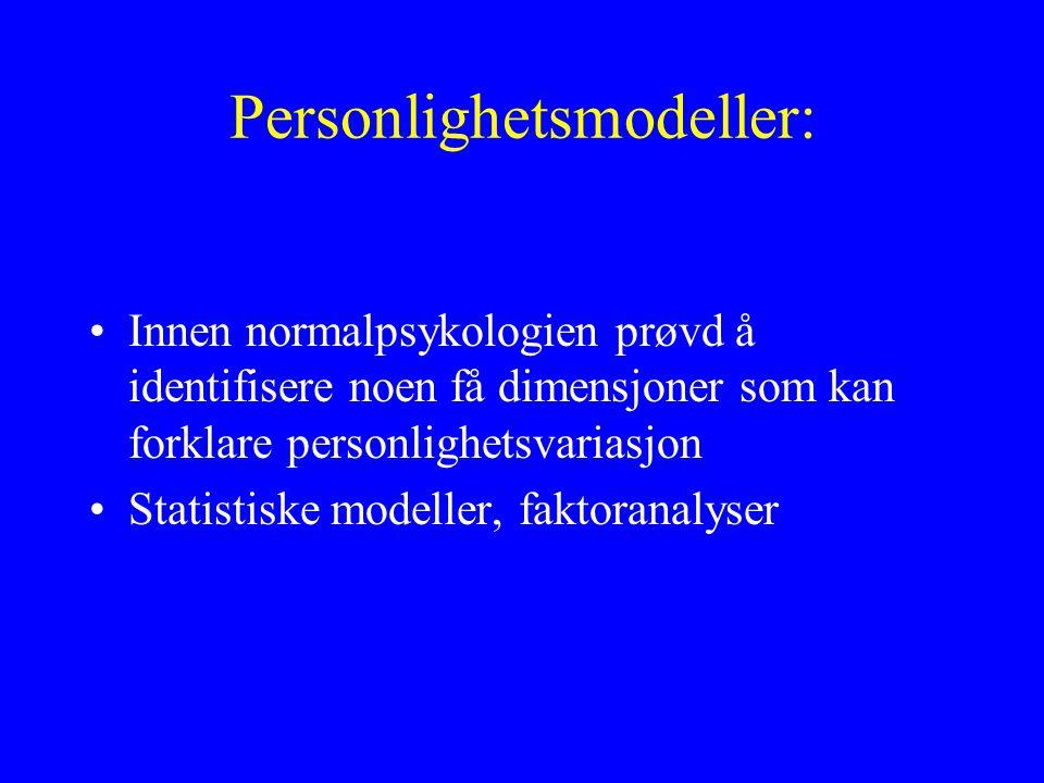 Personlighetsmodeller: