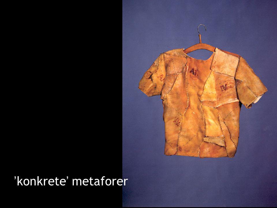 'konkrete' metaforer