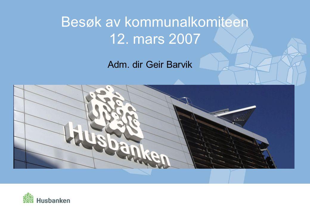 Besøk av kommunalkomiteen 12. mars 2007