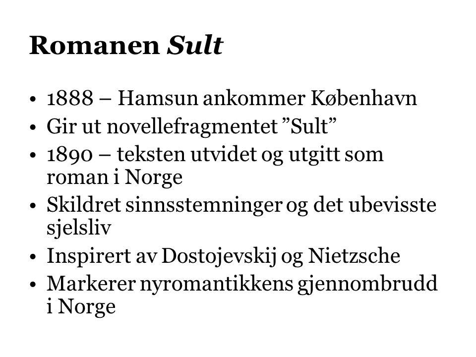 Romanen Sult 1888 – Hamsun ankommer København