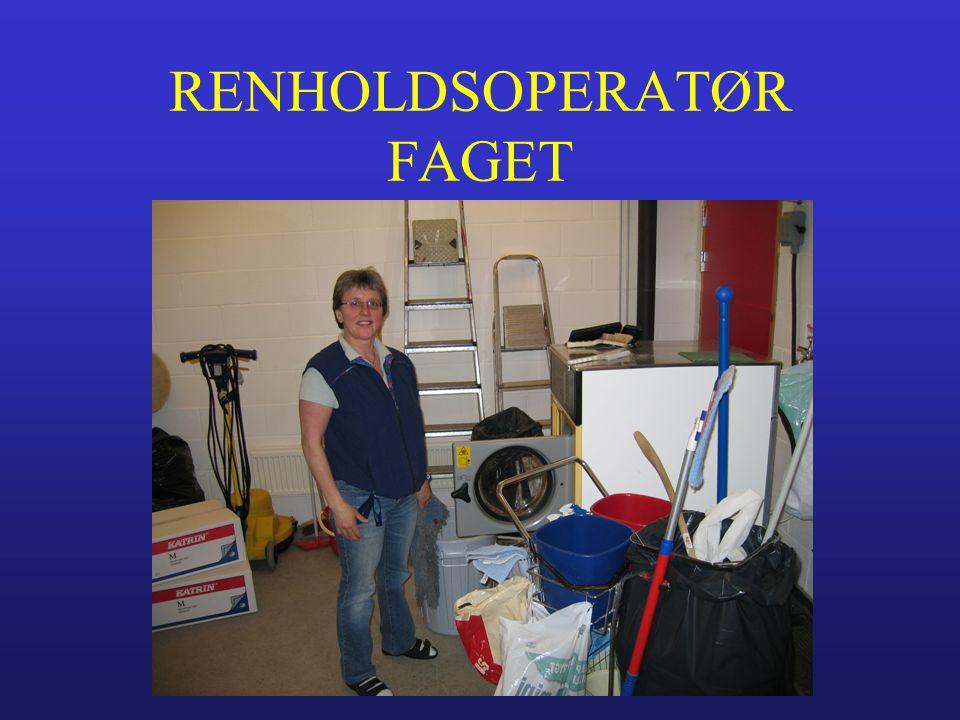 RENHOLDSOPERATØR FAGET