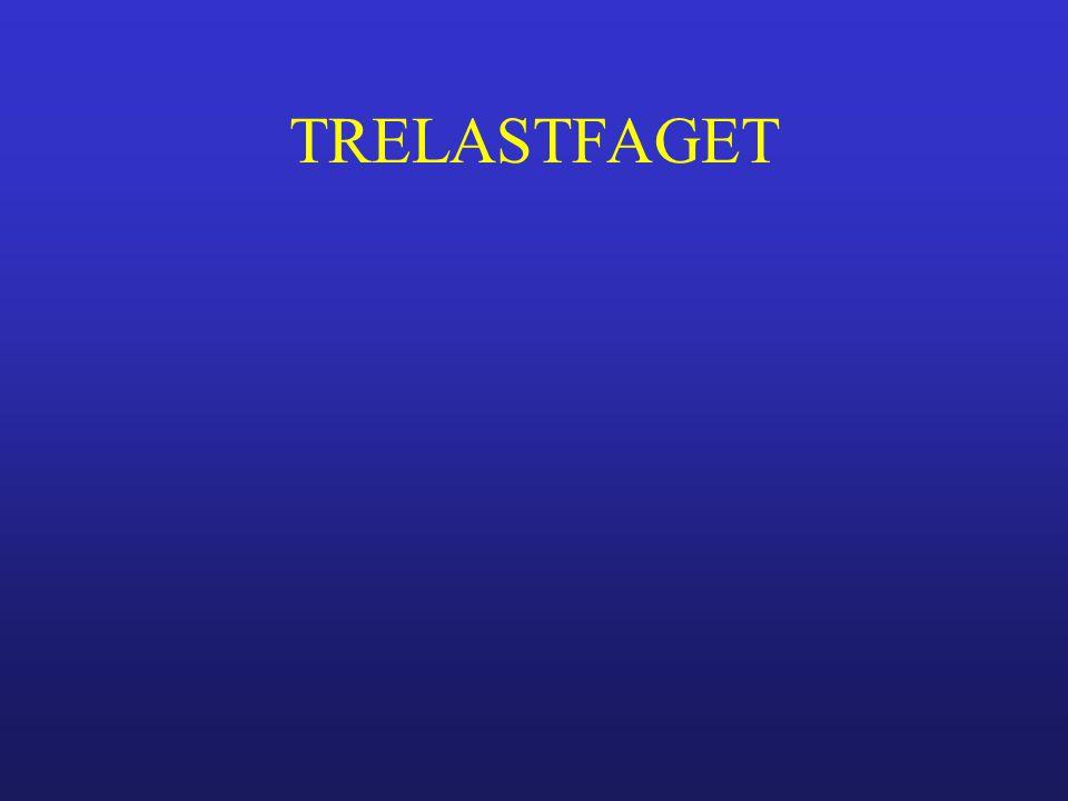 TRELASTFAGET