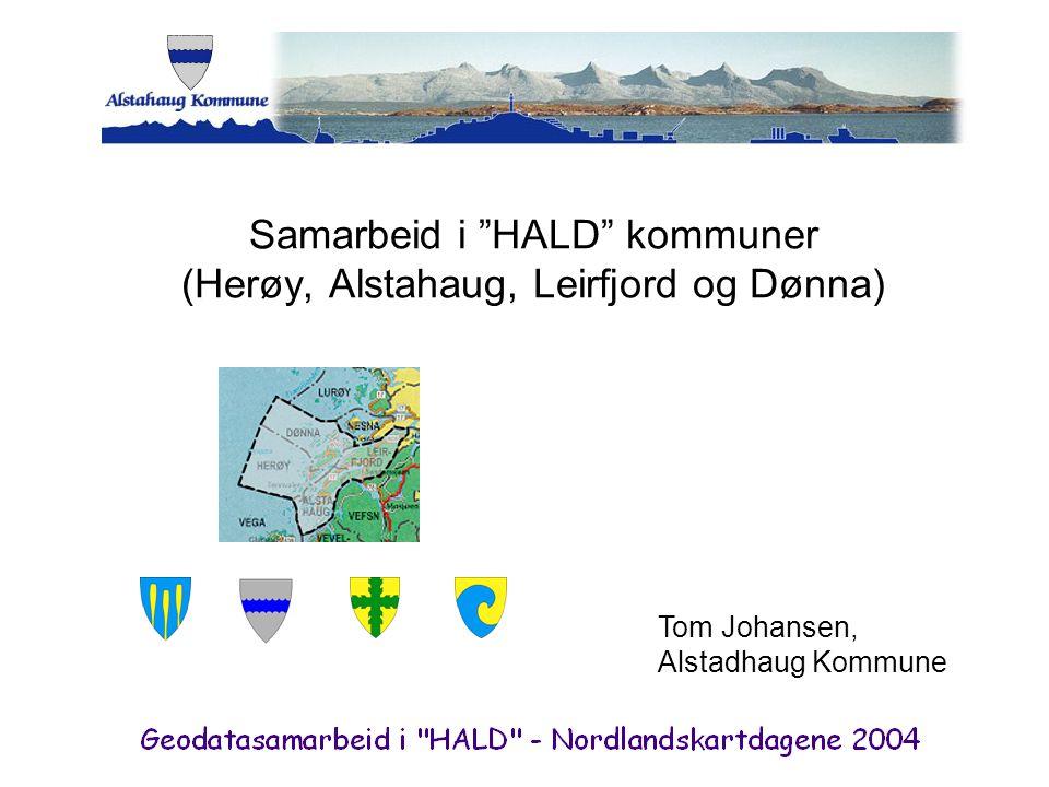 Samarbeid i HALD kommuner (Herøy, Alstahaug, Leirfjord og Dønna)
