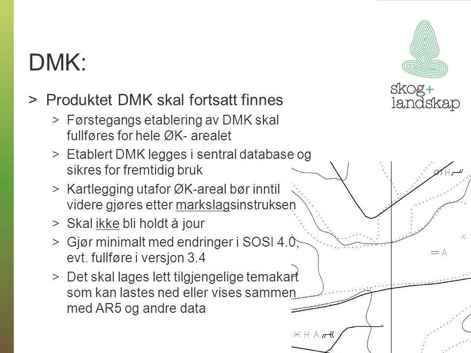 DMK: Produktet DMK skal fortsatt finnes