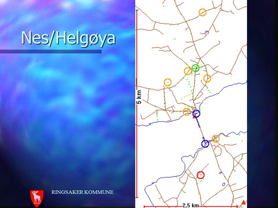 Nes/Helgøya RINGSAKER KOMMUNE