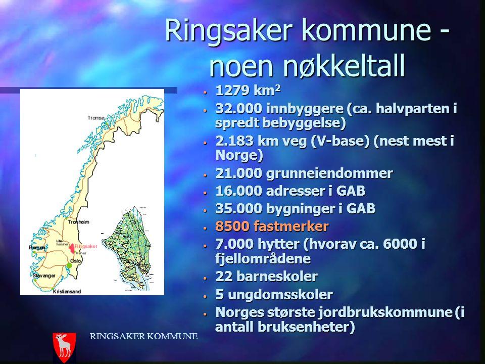 Ringsaker kommune - noen nøkkeltall