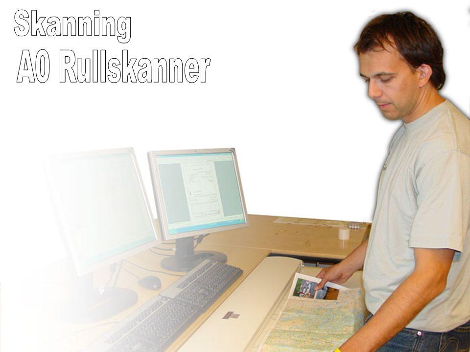 Skanning A0 Rullskanner