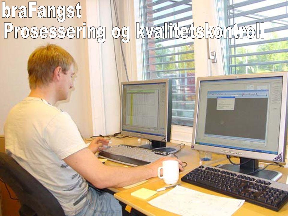 Prosessering og kvalitetskontroll