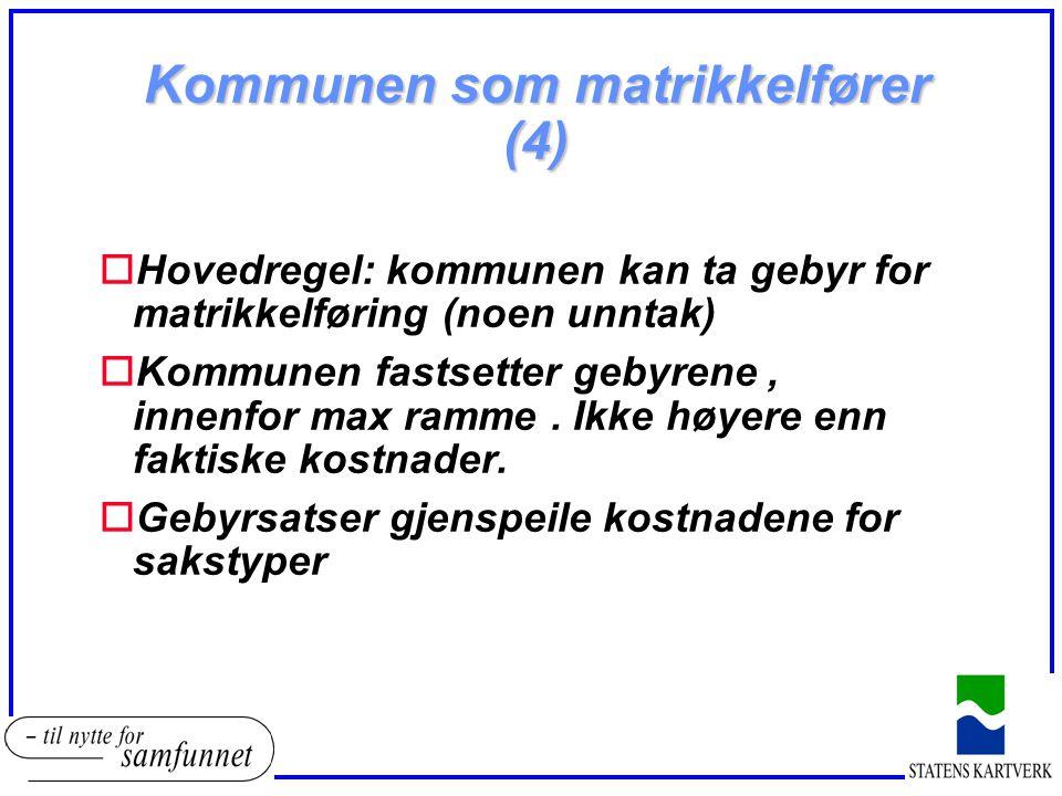 Kommunen som matrikkelfører (4)