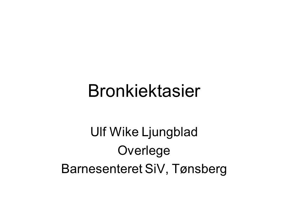 Ulf Wike Ljungblad Overlege Barnesenteret SiV, Tønsberg