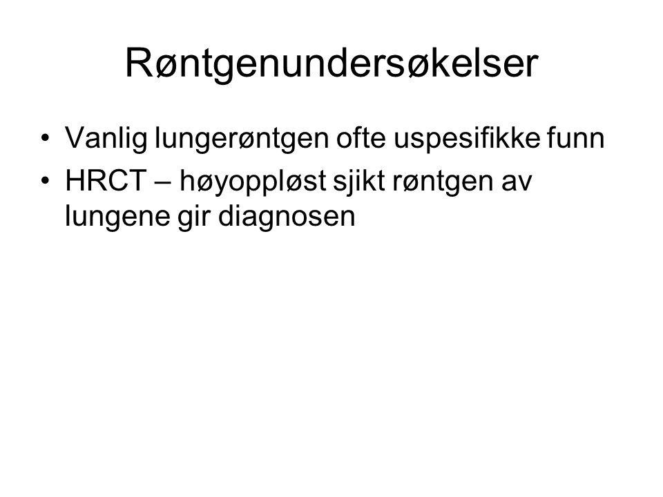 Røntgenundersøkelser