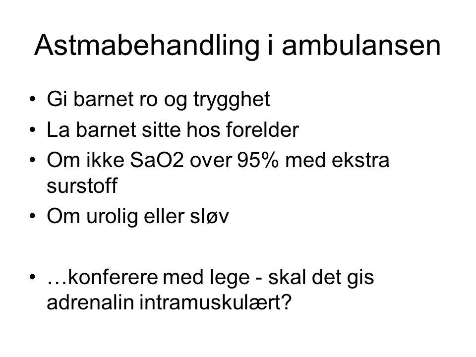 Astmabehandling i ambulansen