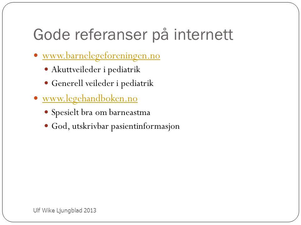 Gode referanser på internett