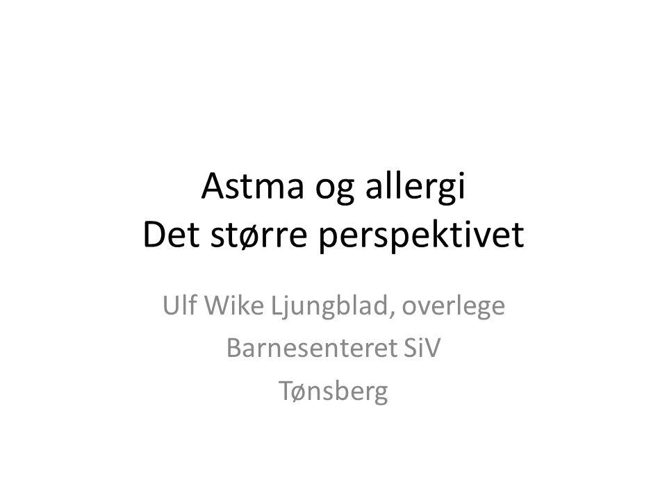 Astma og allergi Det større perspektivet
