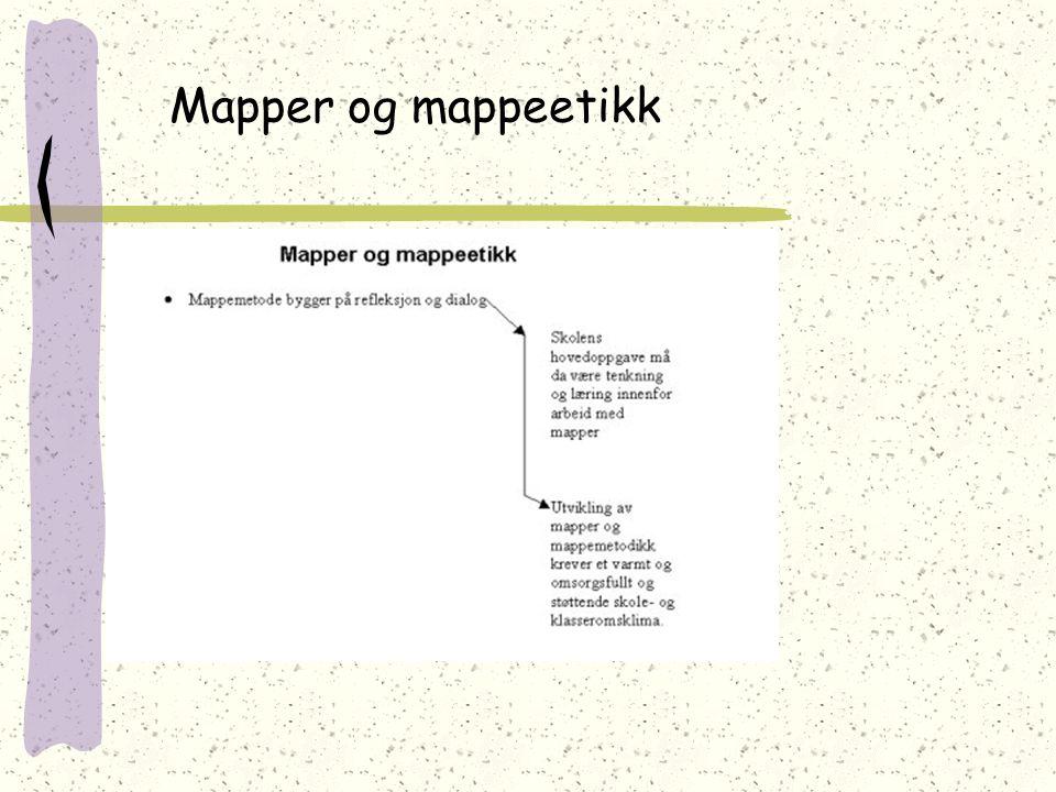 Mapper og mappeetikk