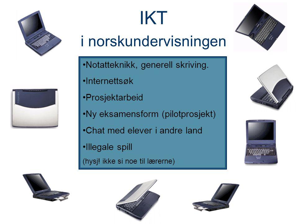 IKT i norskundervisningen