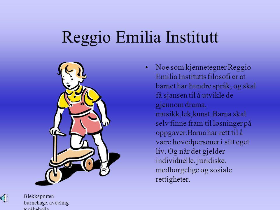 Reggio Emilia Institutt