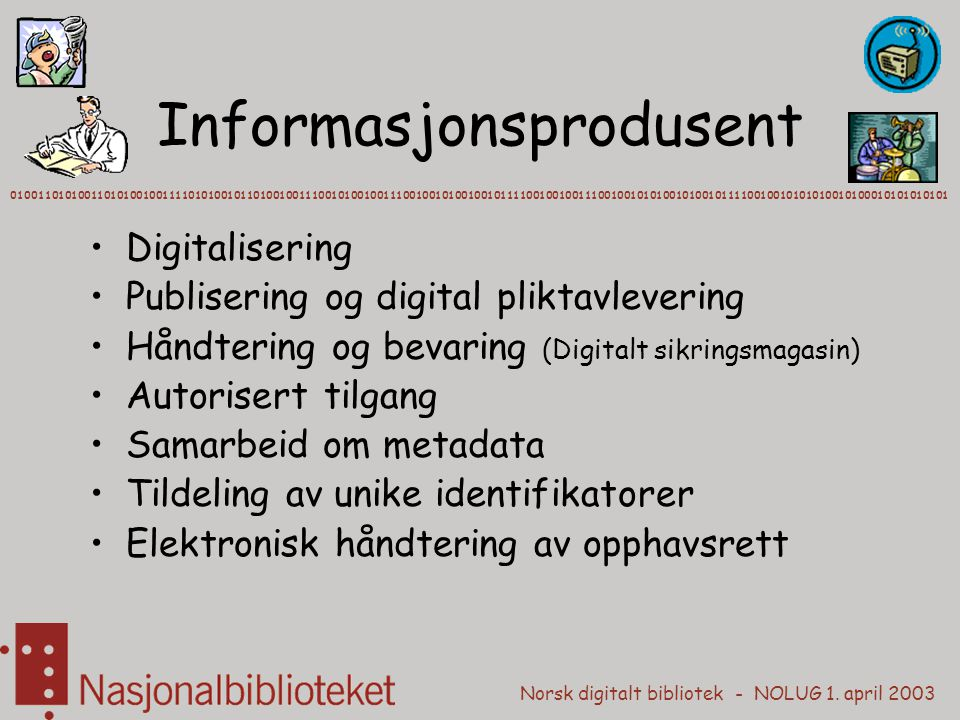Informasjonsprodusent
