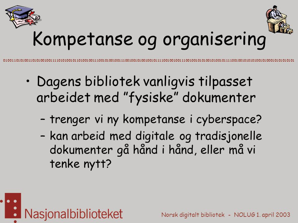 Kompetanse og organisering