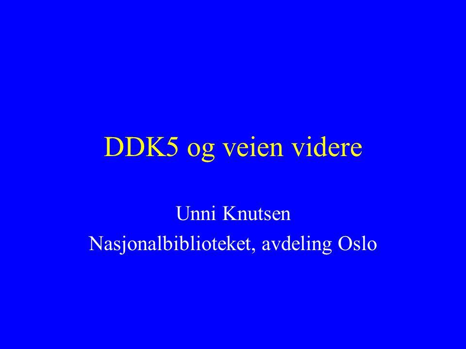 Unni Knutsen Nasjonalbiblioteket, avdeling Oslo