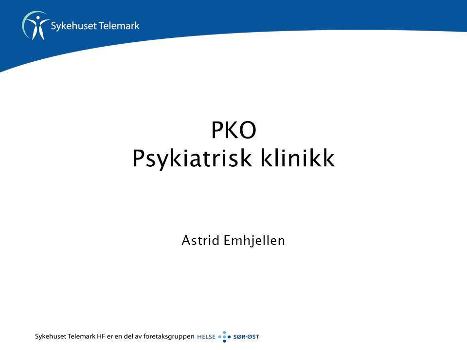 PKO Psykiatrisk klinikk