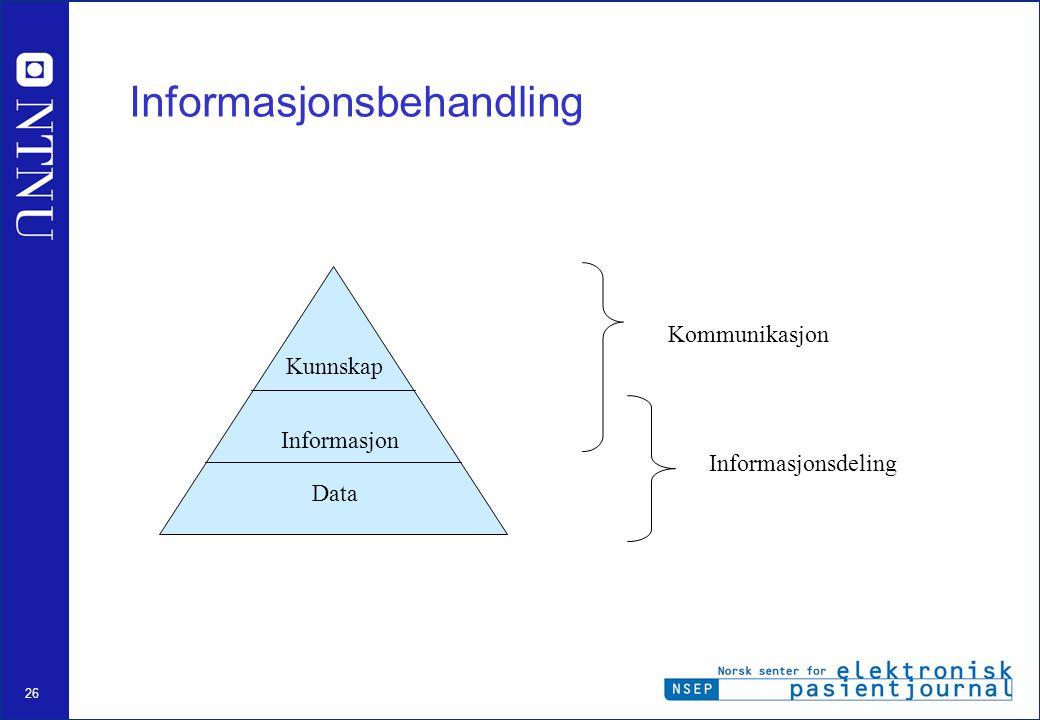 Informasjonsbehandling
