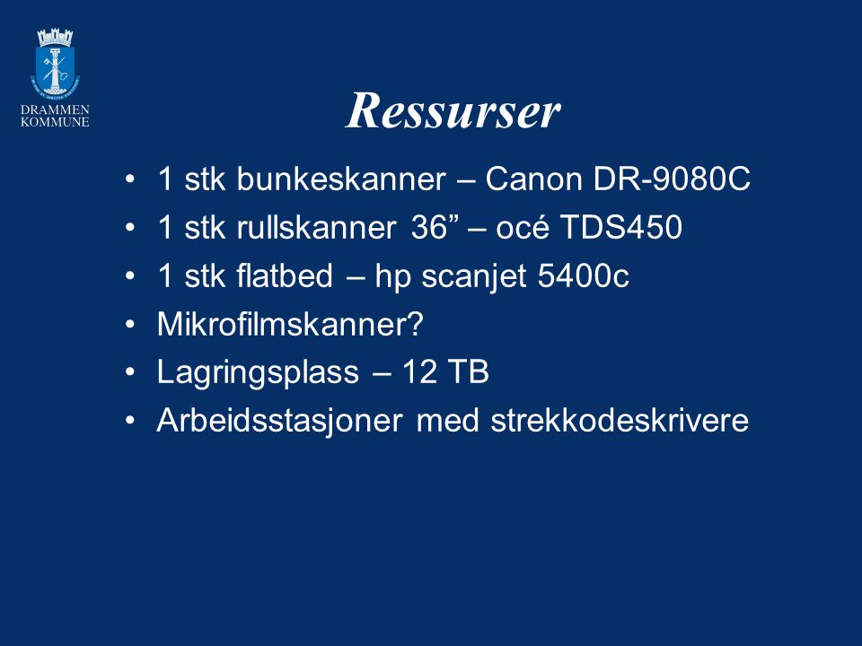 Ressurser 1 stk bunkeskanner – Canon DR-9080C