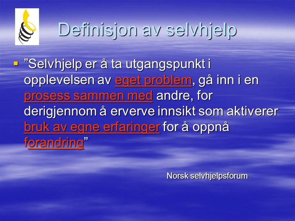 Definisjon av selvhjelp