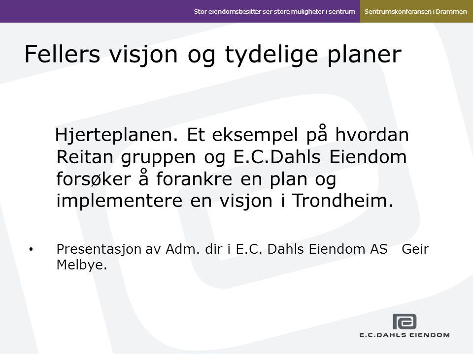 Fellers visjon og tydelige planer