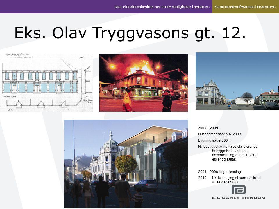 Eks. Olav Tryggvasons gt. 12.