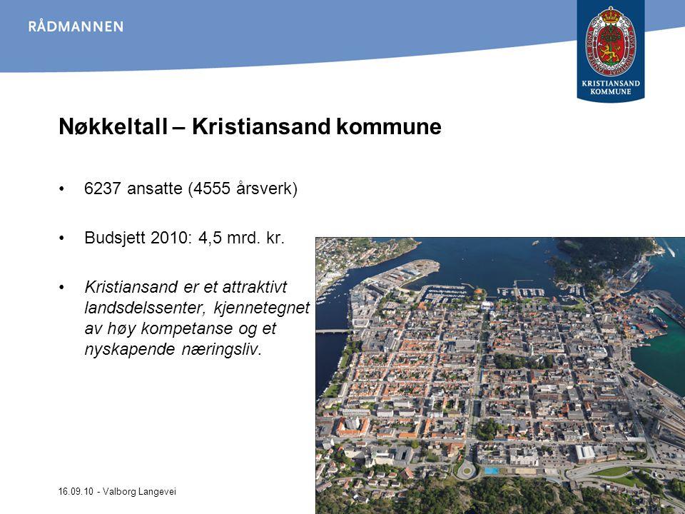 Nøkkeltall – Kristiansand kommune
