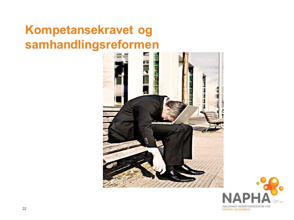 Kompetansekravet og samhandlingsreformen