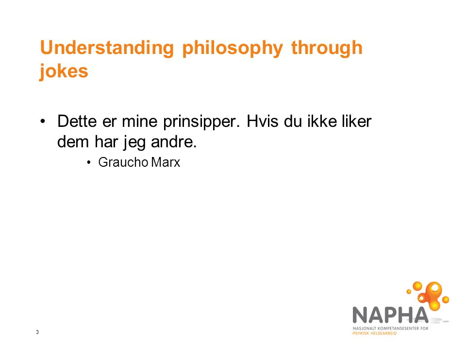Understanding philosophy through jokes