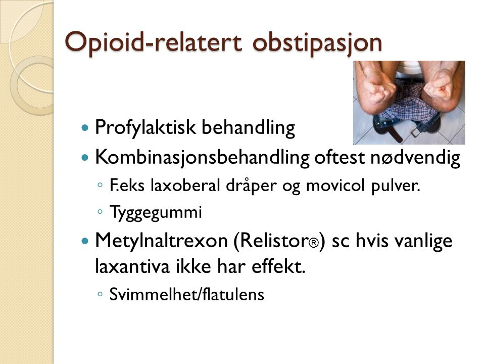 Opioid-relatert obstipasjon