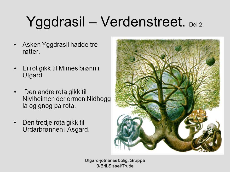 Yggdrasil – Verdenstreet. Del 2.