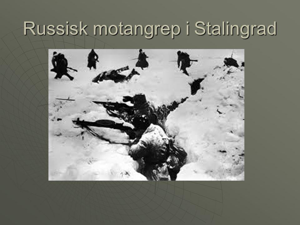 Russisk motangrep i Stalingrad