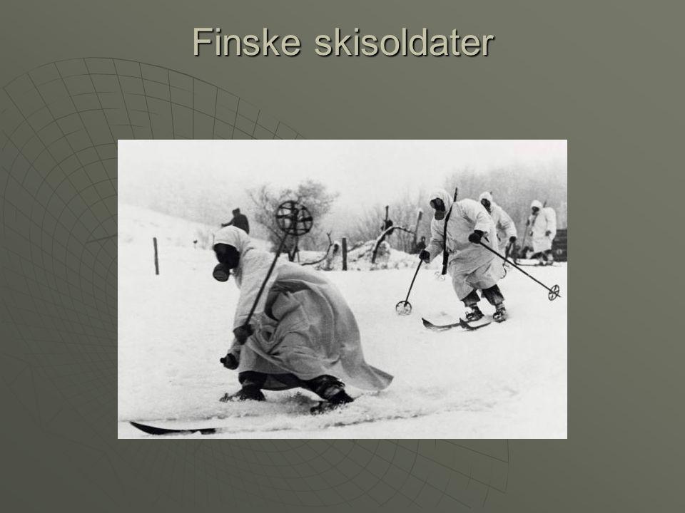 Finske skisoldater