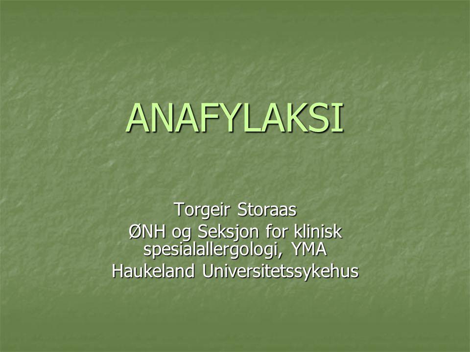 ANAFYLAKSI Torgeir Storaas
