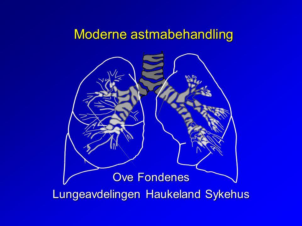 Moderne astmabehandling